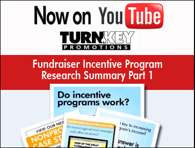 Fundraiser Incentive Program Research by Turnkey Promotions is on YouTube